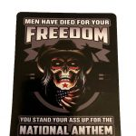 stand up for the National Anthem Decal